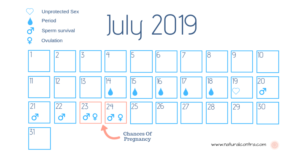 typical month safe days of a woman after periods